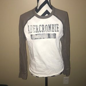 Abercrombie Long Sleeve Baseball Tee